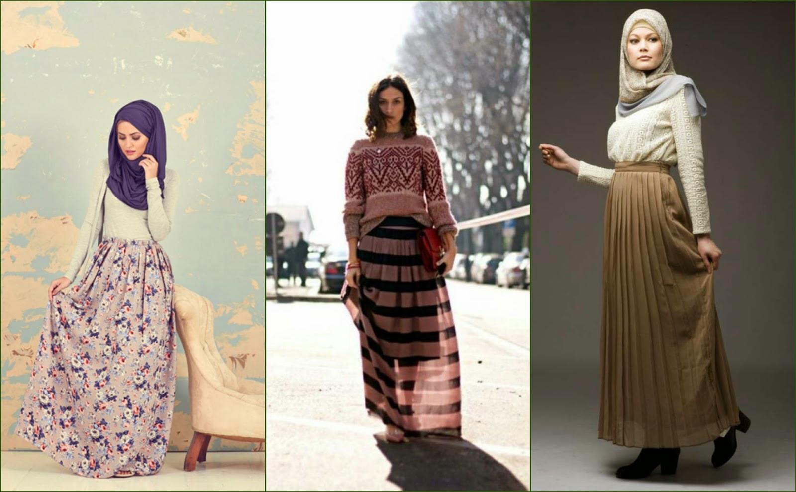 Hijab moderne  Jupe longue hijab pas cher ~ Hijab et