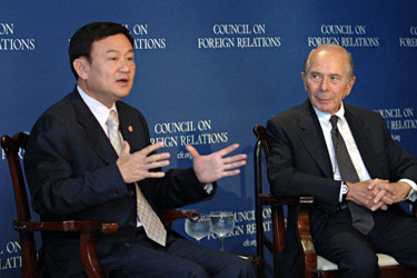 Globalists Fueling Unrest in Thailand ThaksinCFR