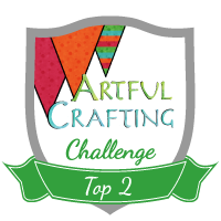 Top 2 at Artful Crafting Challenge # 10