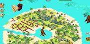 Adventure World: 2. Shipwreck Island GuideTriangle Islands (screen shot at )