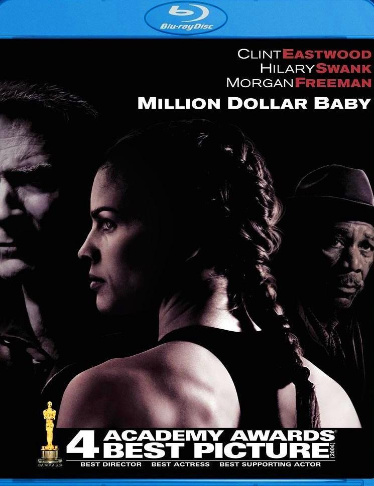 MILLION DOLLAR BABY: Blu-Ray (WB 2004) Warner Home Video