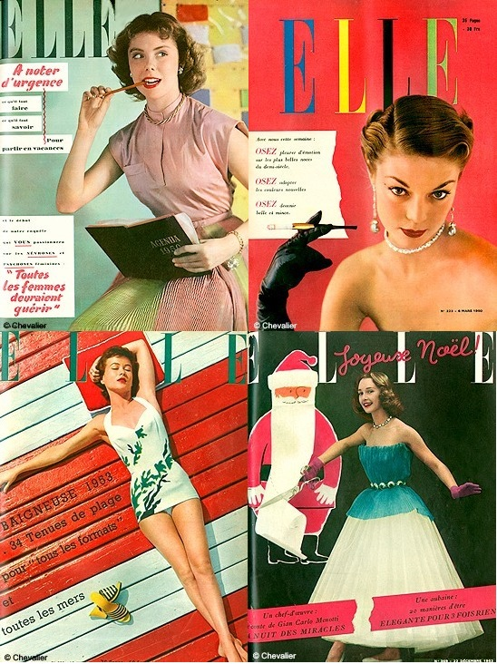 lost in the 50 s vintage fashion magazines