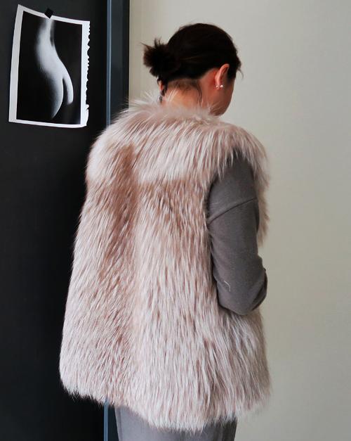 Thick Fur Vest