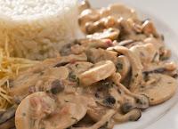 Estrogonofe de Cogumelos (vegana)