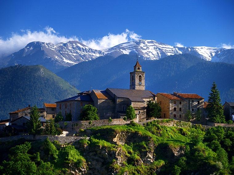 Bellver de Cerdanya. La Cerdanya, Pirineo Oriental.