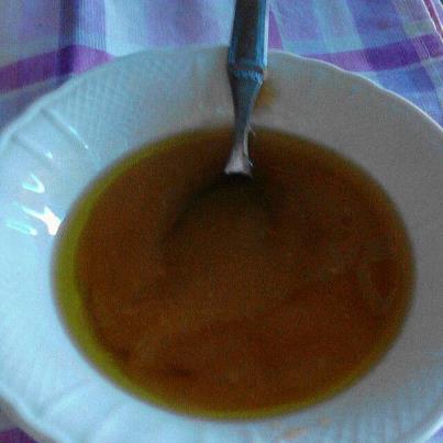 Impacco olio di oliva capelli