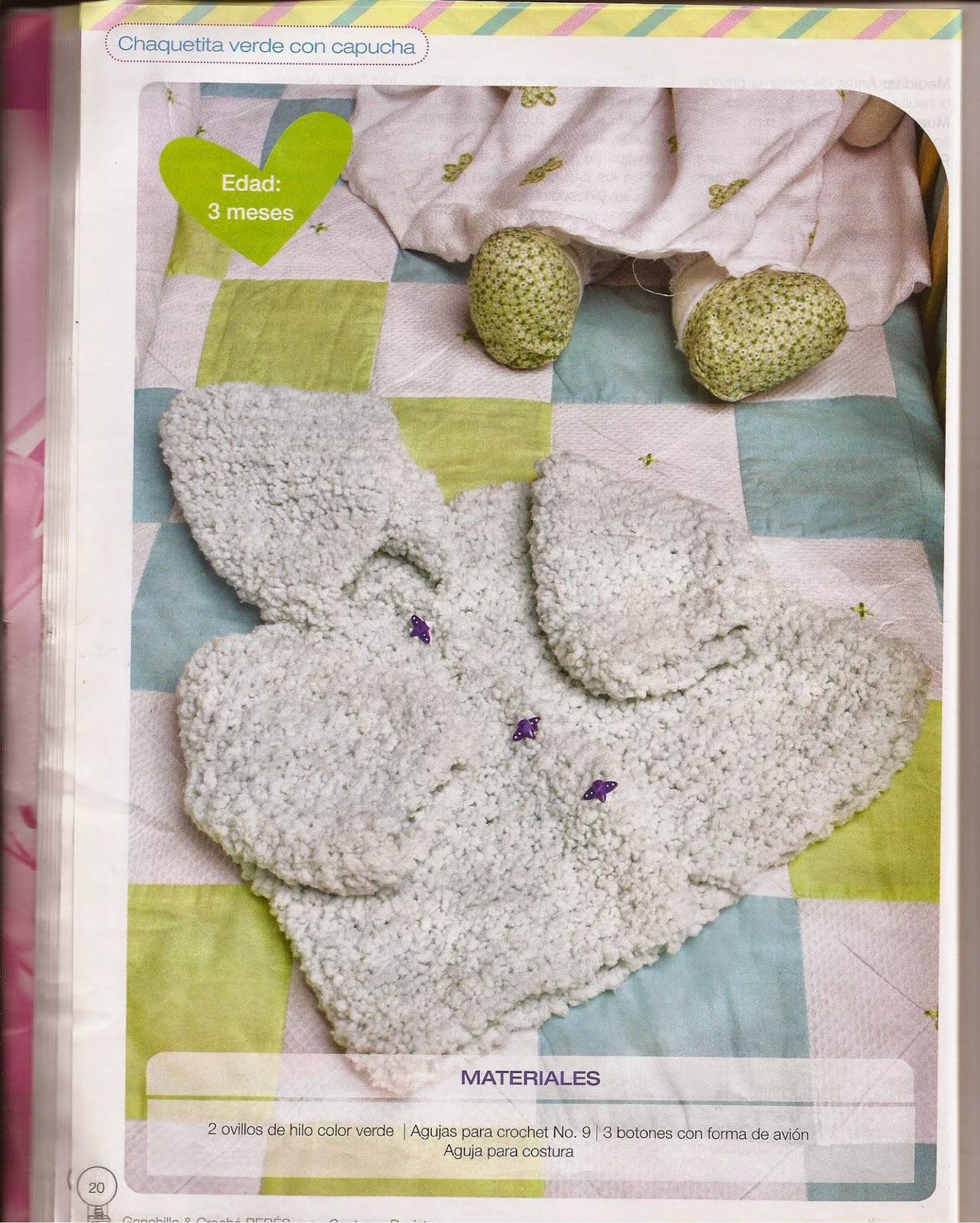 patrones crochet para bebes - Revistas de crochet y tejidos gratis