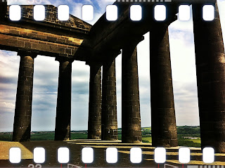 Spectacular views from Penshaw monument