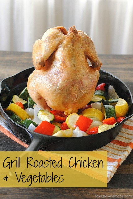 Grill-Roasted Chicken & Vegetables