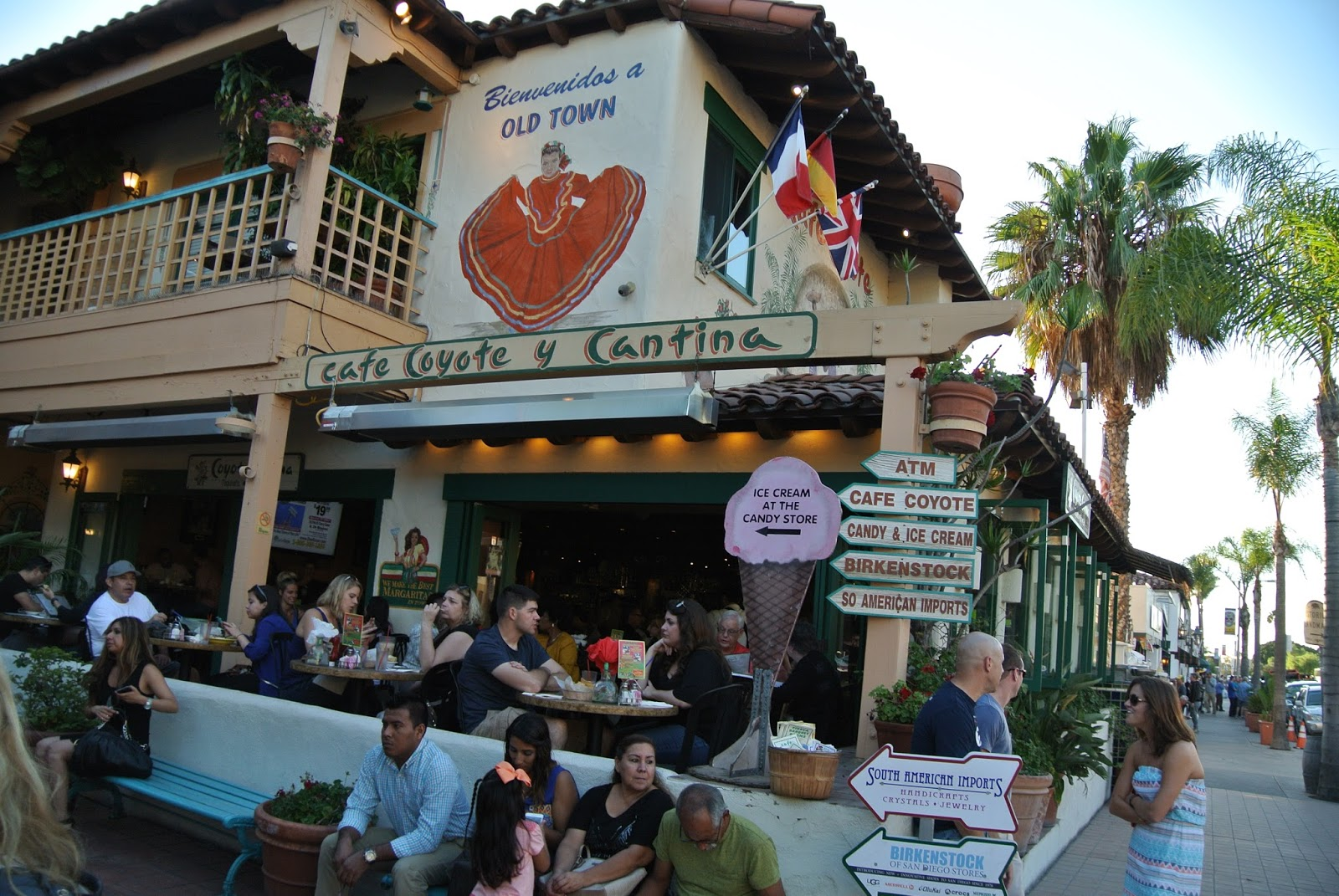 Cafe Coyote Cantina San Diego