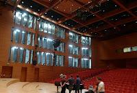 Zdjęcie z pomiarów parametrów akustycznych Akademii Muzycznej w Katowicach