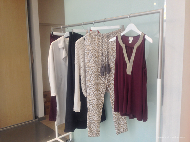 H&M Conscious & Conscious Exclusive Prints and bejewelled top