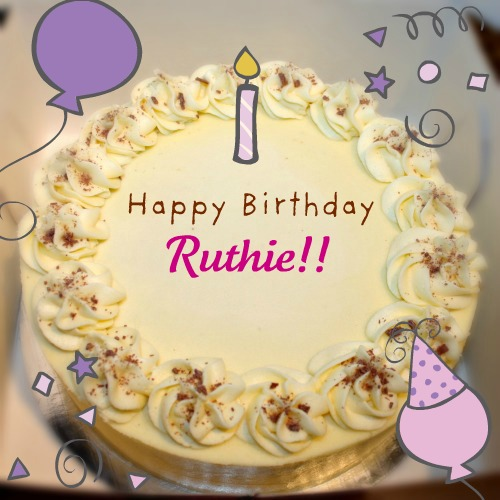 ruthie happy birthday ruthie cake on happy birthday cakes for sister in law