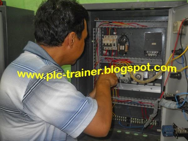 trainer plc bentuk panel