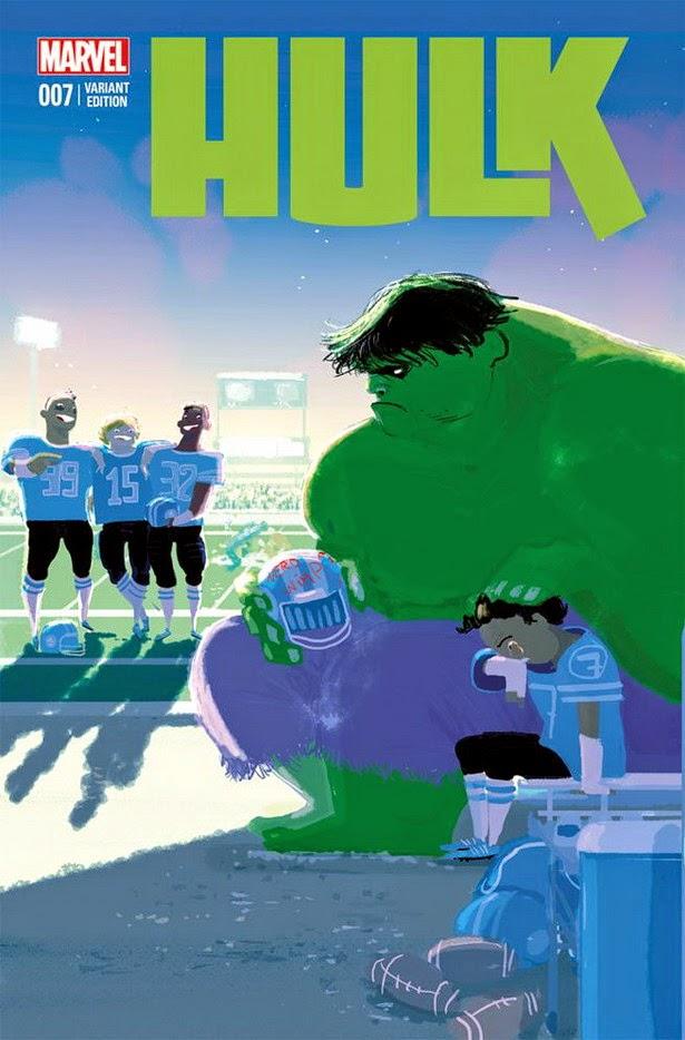 Portada Anti-bullying Hulk 07