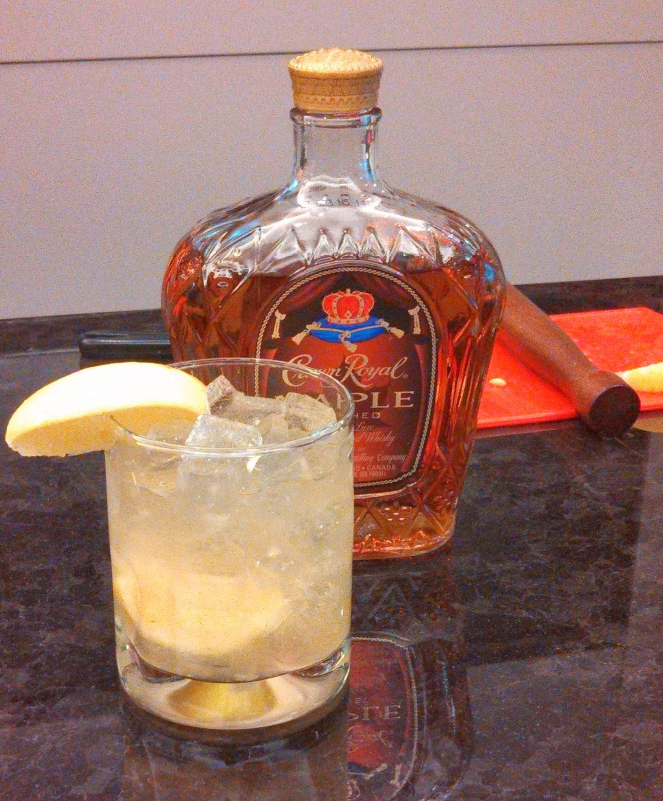 Crown Royal Maple Finish Manitoba Cocktail