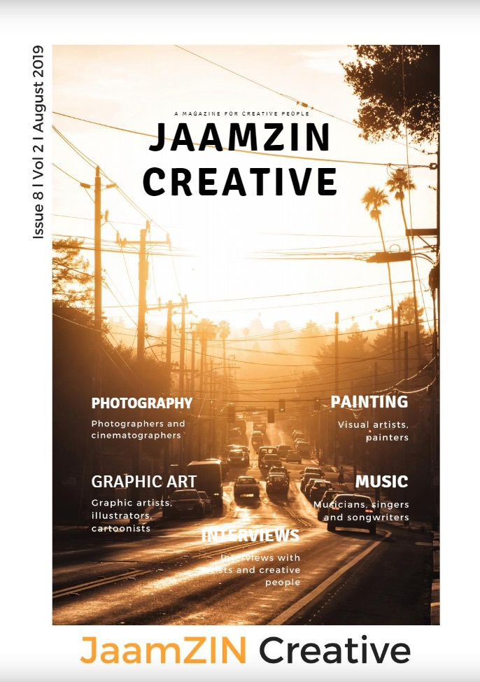 JaamZIN Creative Magazine - August 2019