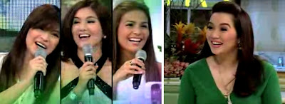 Kris TV March 1 2013 Guests Angel Locsin & Dimples Romana with Iza Calzado
