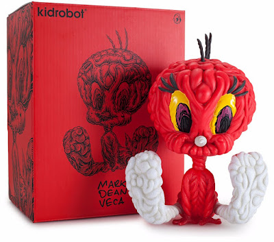 Kidrobot.com Exclusive Mark Dean Veca Red Tweety Bird Vinyl Figure by Kidrobot x Looney Tunes