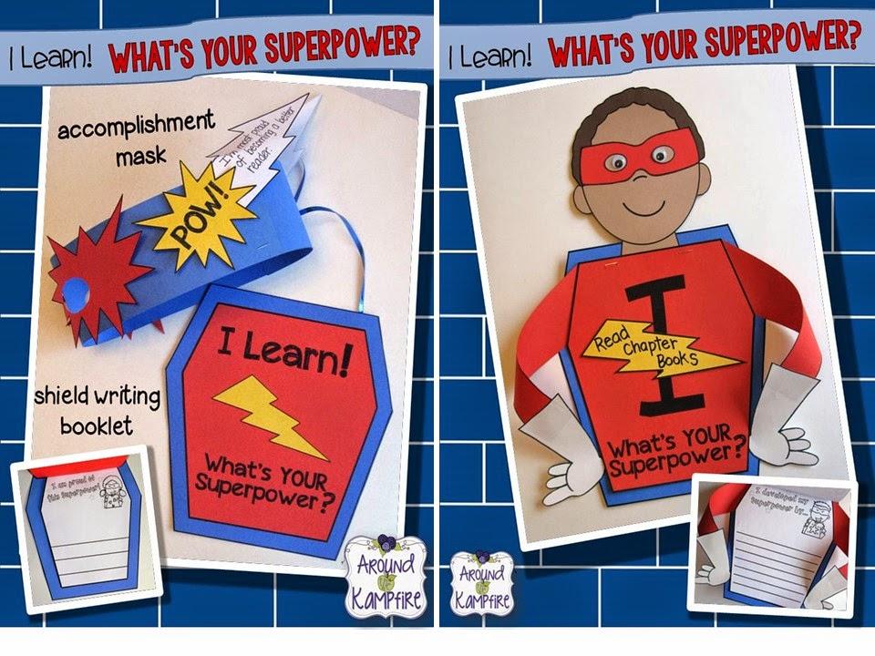 Superhero writing crafts