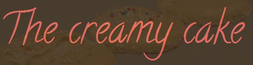 The creamy cake