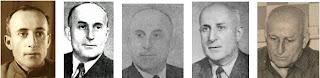 Fotos de Genrikh Moiseievich Kasparian en diferentes épocas