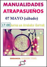 MANUALIDADES ATRAPASUEÑOS (segunda parte) // 07 MAYO (sábado)