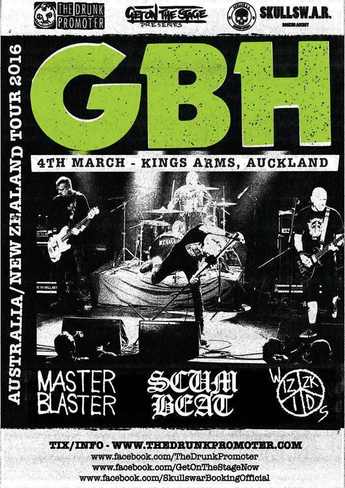 GBH NZ Tour
