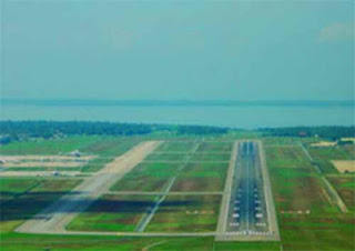 test flight lands at Sri Lanka's Mattala airport