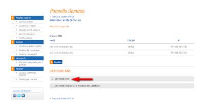 Blogger: impostare dominio personalizzato con MisterDomain.eu