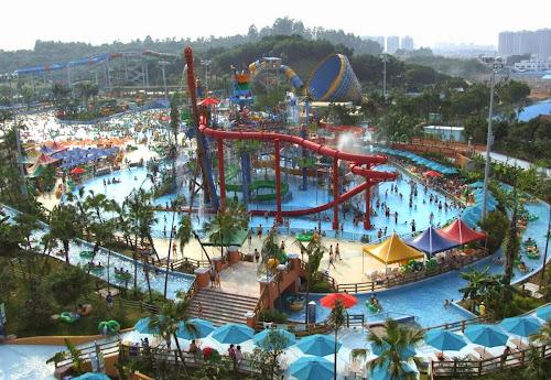 Maior parque aquático do mundo
