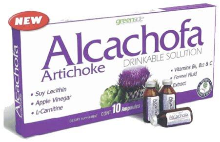 Tadin Artichoke Diet Tea 24 Bag Alcachofa.