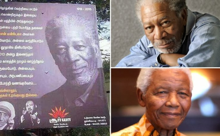 morgan freeman nelson mandela billboard india