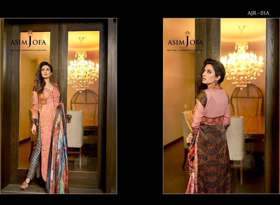 AsimJofaWinterCollection2014 wwwfashionhuntworldblogspotcom 008 - Asim Jofa Winter Collection 2014