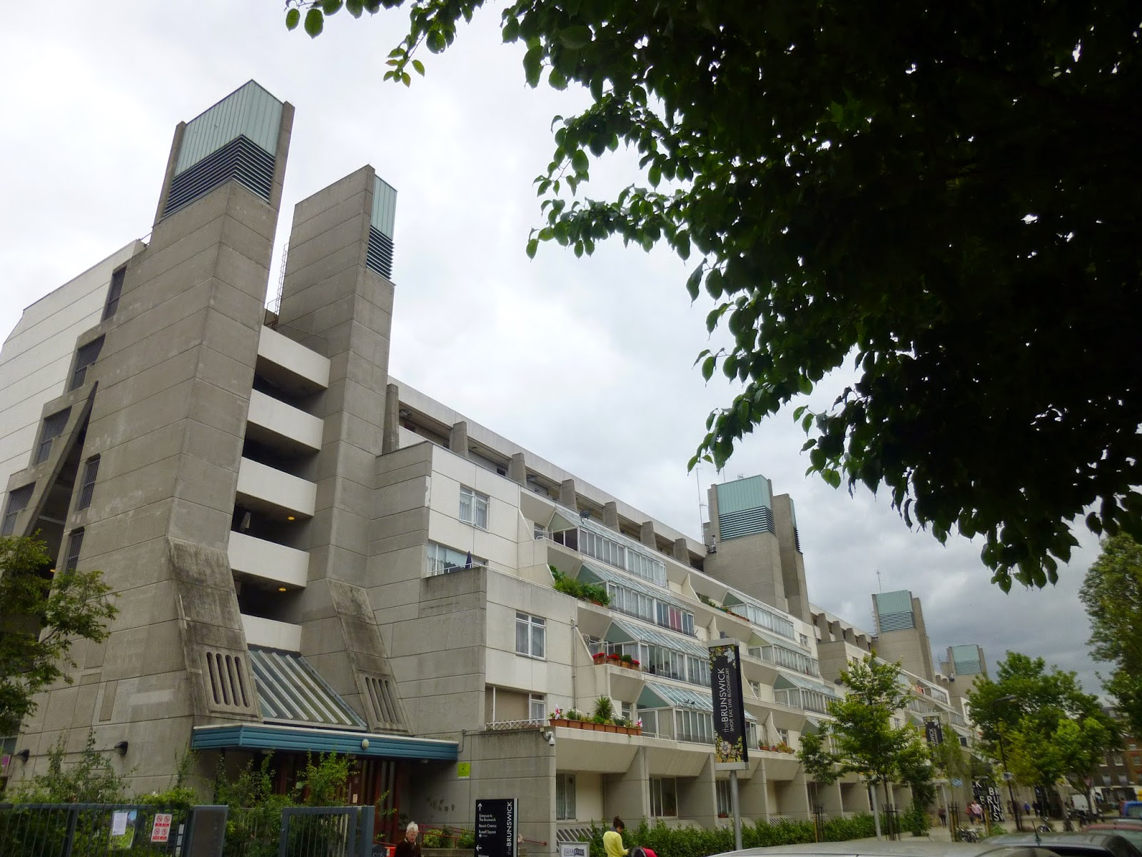 202e9d568f2 The Brunswick centre was built in the late 1960 s as a mixed development  with an open shopping precinct complete with cinema and residential  accommodation ...