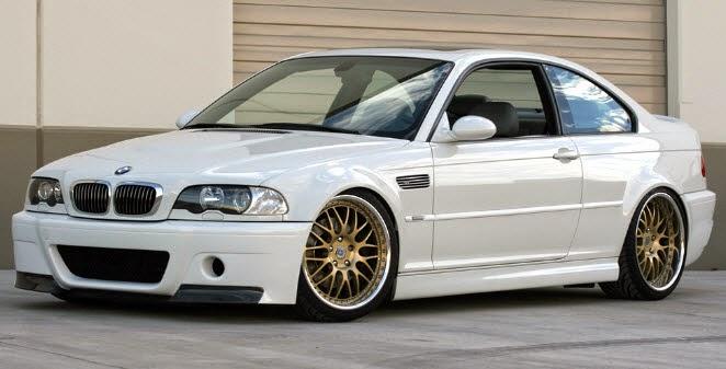 Gambar Modifikasi Mobil BMW Pure White