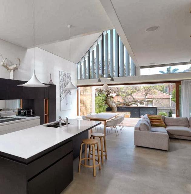 bright interior for kitchen decoration