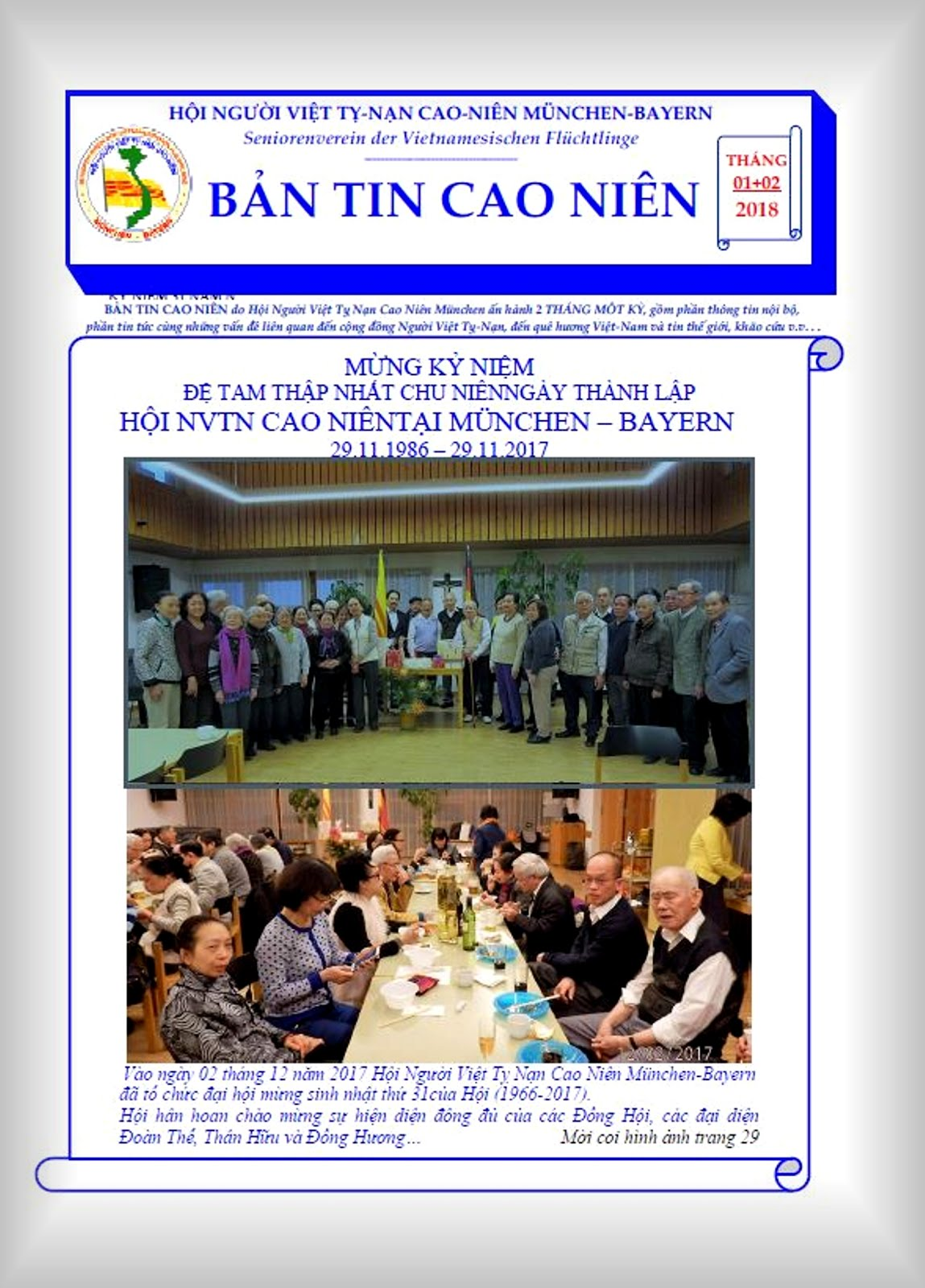 BẢN TIN CAO NIÊN 01+02.2018