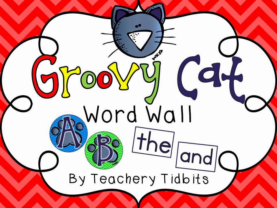 http://www.teacherspayteachers.com/Product/Groovy-Cat-Themed-Word-Wall-EDITABLE-1266178