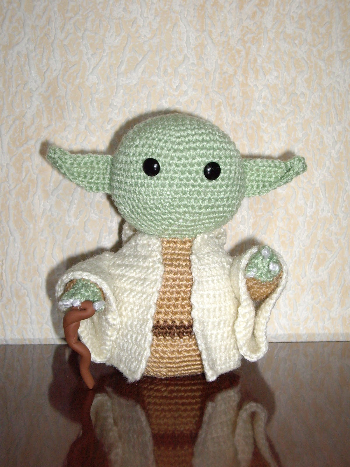 Abuelita Rapta Ninos: Yoda Amigurumi