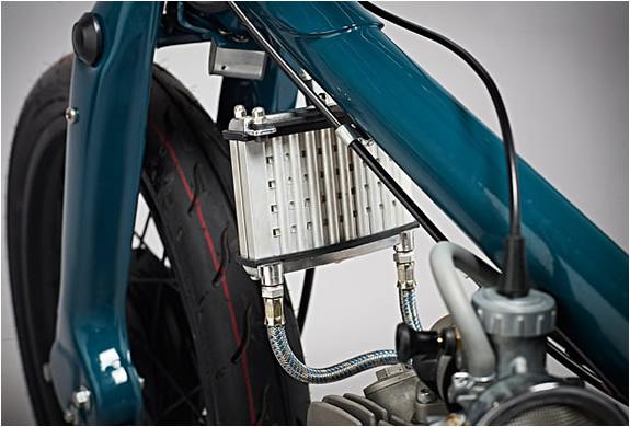 CUSTOM SUPER CUB RACER| SALT SHAKER | SUPER MOTOR COMPANY