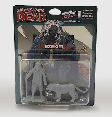 San Diego Comic-Con 2015 Exclusive The Walking Dead PVC Figure 2 Packs by October Toys - Ezekiel & Shiva