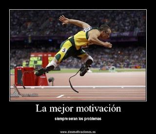 No conozco mejor motivación que los problemas.