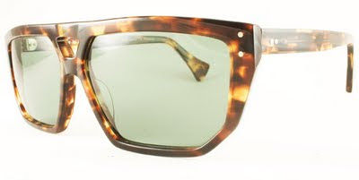 Rock Optika eyewear collection: Gstaad sunglasses in tortoiseshell