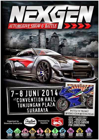 Nexgen Auto Motor Contest 2014 (Surabaya)