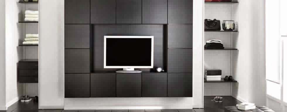 Meuble tv avec rangement moderne meuble tv for Meuble tv avec rangement dvd