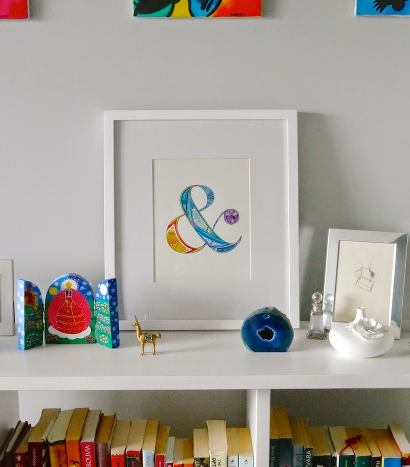 Free tutorial for your own artwork worth of framing. Uses Watercolour and Pen, from Sarita Creative