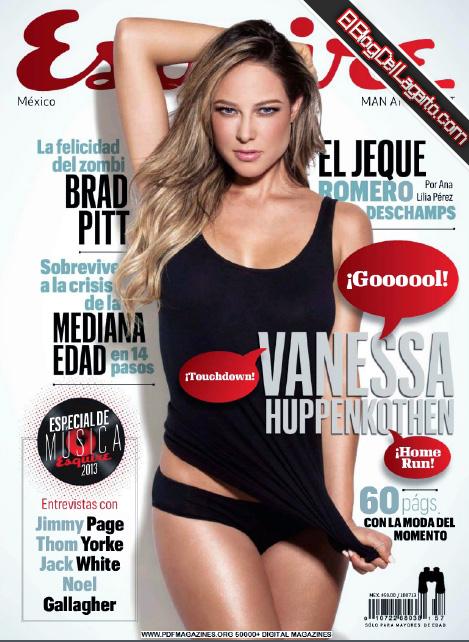 Revista Esquire Mexico Junio 2013 Vanessa Huppenkothen