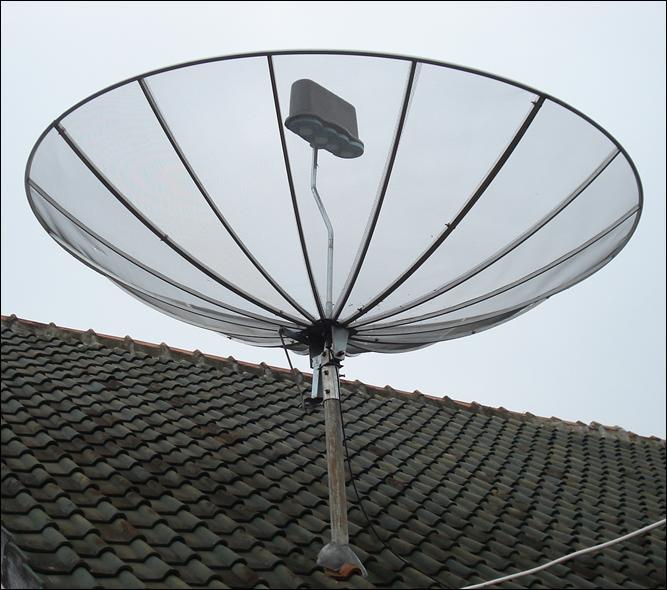parabola tanpa rotator