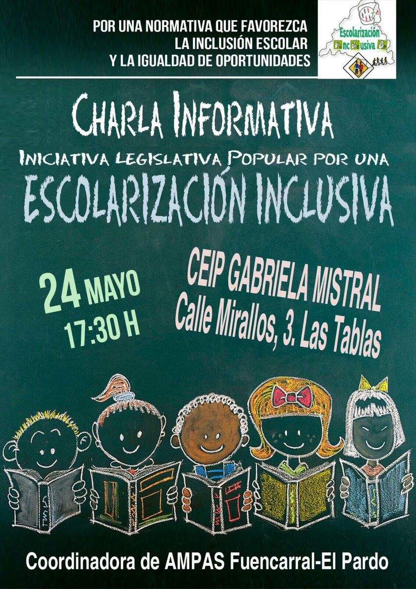 24 de mayo Escolarización Inclusiva